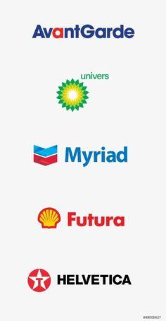 Kevin McCauley — Design #font #univers #oil #myriad #futura #logo #helvetica #typography