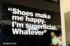 or purses, or cars, or sunglasses...