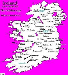 Map Of Ireland 800 Ad.47 Best Irish Tribe Delbhna Images In 2017 Ireland Irish Irish