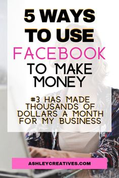 Want more money and sales? Don't think that Facebook is the way to get them? Think again! These 5 simple tips can help you make money now on Facebook. Social media marketing is not dead. And small businesses can grow and use the audience they have to make sales right now. There's some work to do to have the people and engagement you need to be seen on social media, but it is possible to get consistent sales from your audience. #facebook #facebookmarketing