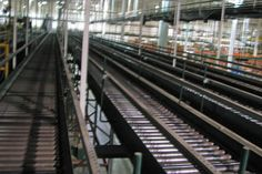"""Rapistan 24"""" Wide Padded Chain Conveyor. Call or email for price: 616-887-8886. Quantity: 1000 feet. Description: Padded chain conveyor, 24' x 1000'"""