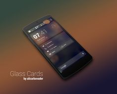 Glass Cards