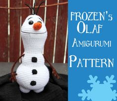 Crochet Pattern: Olaf from Disney's Frozen door MilesofCrochet