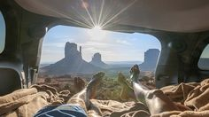 With our new green living camping hacks, you'll be camping in style baby! Make friends and influence people with your camping savvy! Beautiful Places In The World, Rest Of The World, Roadtrip, Stunning View, Best Vacations, Camping Hacks, Nice View, Travel Usa, Monument Valley
