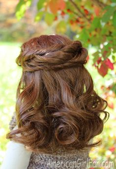 Doll Hairstyle: Half-up Twists!
