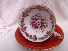 Attractive Aynsley china tea cup and saucer. by Collectablesgalore, £27.50