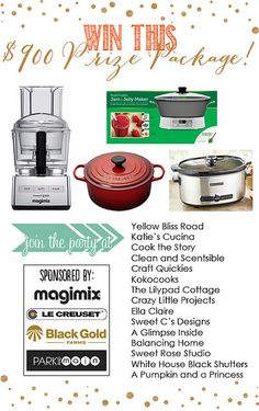 Fall 2013 giveaway by @Suzanne, via Flickr @Le Creuset @Park and Main