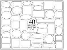 40 reasons why we love you template