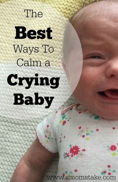 Works like a charm every time! These tried and true tips are perfect for calming your crying baby. #ad #EndTheRed
