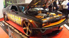 Dodge Challenger SRT-8 First edition at Essen Motorshow - Exterior Walka...