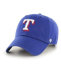 6e6406739f8 MLB Texas Rangers  47 CLEAN UP Adjustable Hat Texas Rangers Logo
