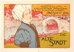 Fischer, Otto poster: Die Alte Stadt | Shop original vintage #posters online: www.internationalposter.com