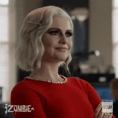 iZombie Brain Bits: No Wedding and Three Funerals! Shows On Netflix, Movies And Tv Shows, Izombie Tv Series, I Zombie, Rose Mciver, Ouat Cast, Female Protagonist, Best Brains, Video Channel