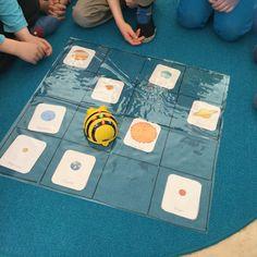 Beebot ja avaruus. Harjoittelimme aurinkokuntamme planeettojen järjestystä koodaamalla. Bee Bop, Early Childhood Education, Educational Technology, Solar System, Kindergarten, Coding, Teaching, Math, Space