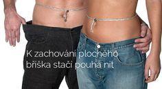 K zachování plochého bříška stačí pouhá nit Beauty Women, Health Fitness, Workout, Sport, Woman, Fashion, Diet, Health, Slim