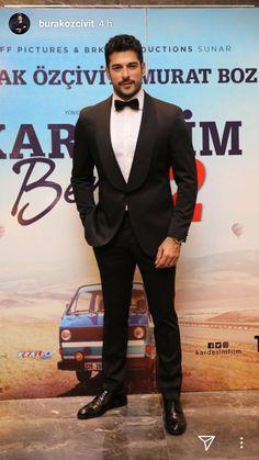 Dámy, bude vám horúco: Sexy Kemal v gala vám vyrazí dych! Turkish Men, Turkish Actors, Mens Fashion Suits, Mens Suits, Stylish Men, Men Casual, F Pictures, Burak Ozcivit, Boujee Outfits