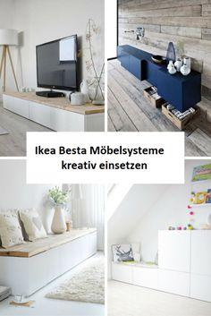 Ikea Besta units in the interior design creatively integr .- Ikea Besta Einheiten in die Inneneinrichtung kreativ integrieren Ikea Besta creatively integrate units into the interior - Diy Casa, Ikea Hackers, Ikea Hack Besta, Ikea Furniture, Furniture Ideas, Furniture Companies, Office Furniture, Bedroom Furniture, Deco Design