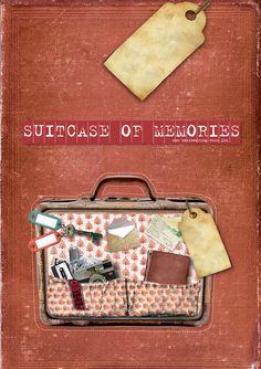 Boekje met levensverhaal uit Suitcase of Memories; koffer vol herinneringen After Life, Art Therapy, Grief, Inspire Me, Storytelling, Suitcase, Coaching, Lunch Box, Memories