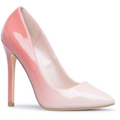 ShoeDazzle Pumps Elizabeth Womens Pink ❤ liked on Polyvore featuring shoes, pumps, pink, pink pumps, pointed toe shoes, pink pointy toe pumps, print pumps and patterned pumps