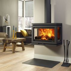 DG Vidar Triple (9KW+) Stove + £545 materials voucher to use at checko - The Stove Fitter's Warehouse