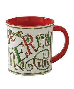 Take a look at this Holly Days Mug by Split P on #zulily today!