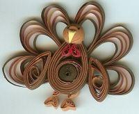 Quilled turkey