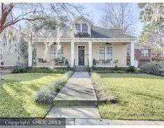 117719- Fine Historic English style bungalow, circa 1921. Just steps from Baldwin Park.Lovingly restored, with over $130,000 in renovations-spacious rooms,soaring ceilings, huge gourmet kitchen, original architectural details. 2 large covered porches and beautiful private courtyard garden. 1 car garage