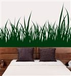 Maybe a grass wall decal on the white wall bottoms - not sure exactly what yet though