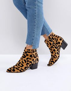 Buy Office Aruba leopard print boots at ASOS. With free delivery and return options (Ts&Cs apply), online shopping has never been so easy. Get the latest trends with ASOS now. Leopard Shoes Outfit, Leopard Print Ankle Boots, Snake Print Boots, Winter Chic, Bootie Boots, Shoe Boots, Calf Boots, Ankle Booties, Women's Boots