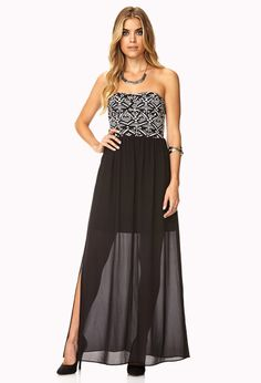 Out West Combo Maxi Dress | FOREVER21 - 2000111737 - http://AmericasMall.com/categories/juniors-teens.html