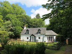 The white cottage, pitlochry