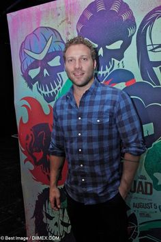 Jai Courtney attends Suicide Squad's Press Conference in New York