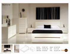 Gloss White Bedroom Furniture Design Check more at http://blogcudinti.com/23857/gloss-white-bedroom-furniture-design/
