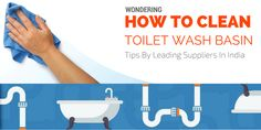 Wondering How To Clean #Toilet #Wash #Basin – Tips By Leading #Suppliers in India