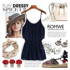 """""""Boho spice up - Romwe"""" by addorajako ❤ liked on Polyvore featuring Ralph Lauren, Aquazzura and The French Bee"""