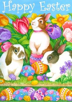 Lorraine Ryan —  Happy Easter  (489x700)