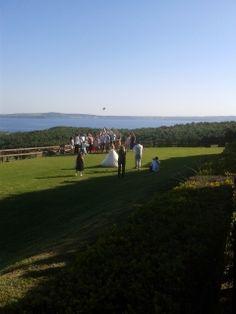 Flight of the bridal bouquet
