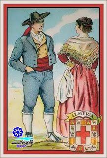 Trajes típicos de Andalucía Almeria. Colección Amatller | aznalfarache