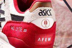 "Afew x ASICS GEL-Lyte III ""Koi"""