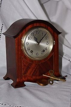 ANTIQUE SETH THOMAS SHELF MANTLE CLOCK -CHATEAU c/1921  BEAUTIFUL-Restored--!!!!