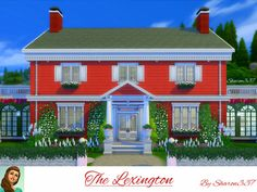 The Lexington house by sharon337 at TSR via Sims 4 Updates  Check more at http://sims4updates.net/lots/the-lexington-house-by-sharon337-at-tsr/