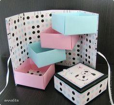 Como hacer alhajero de carton
