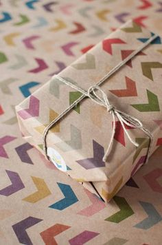 """Keep • """"3 Sheets Follow the Arrow - Wrapping Paper"""" kept into Misc. by jbailey722"""