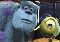 "In the original script, Sulley was a janitor and not a scarer. Also, Mike's character did not exist. | 16 Things You Might Not Know About ""Monsters Inc."""