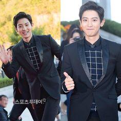 "@bestkdramas on Instagram: ""EXO's Chanyeol (EXO Next Door) at 2015 Korean Drama Awards – Chanyeol won New Actor award! """