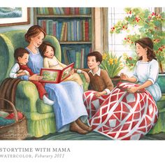 Storytime with Mama by Breezy Brookshire