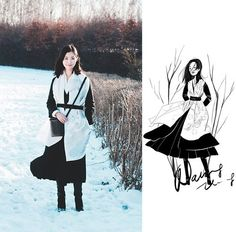 blog, look do dia, Nancy Zhang, Xiaoxi Zhang, ilustração, moda, art, fashion, illustration,