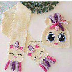 Very # 32 # Scarf # Cardigan # Knitting – crochet pattern Crochet Kids Scarf, Crochet Winter, Crochet Scarves, Crochet For Kids, Crochet Baby Clothes, Crochet Baby Hats, Crochet Unicorn Blanket, Baby Knitting Patterns, Crochet Patterns