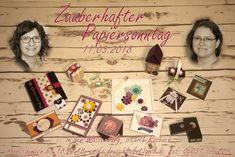 Zauberhafter Papiersonntag am 11. März 2018 in der Wasserburg Rosbach