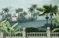 Paysages colorés - Chao Phraya couleur 420x270cm - Ultra mat Ananbô